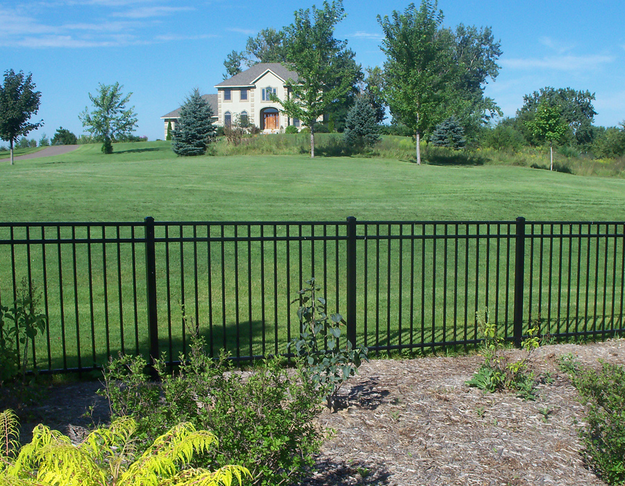 Series a quot rail standard bottom powers fence supply