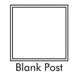 blank posts